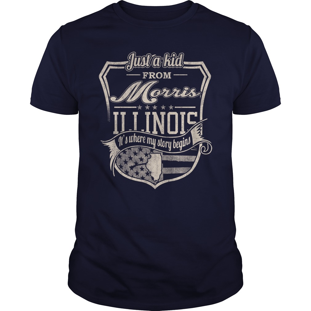 Morris, IL – It's Where My Story Begins Shirts