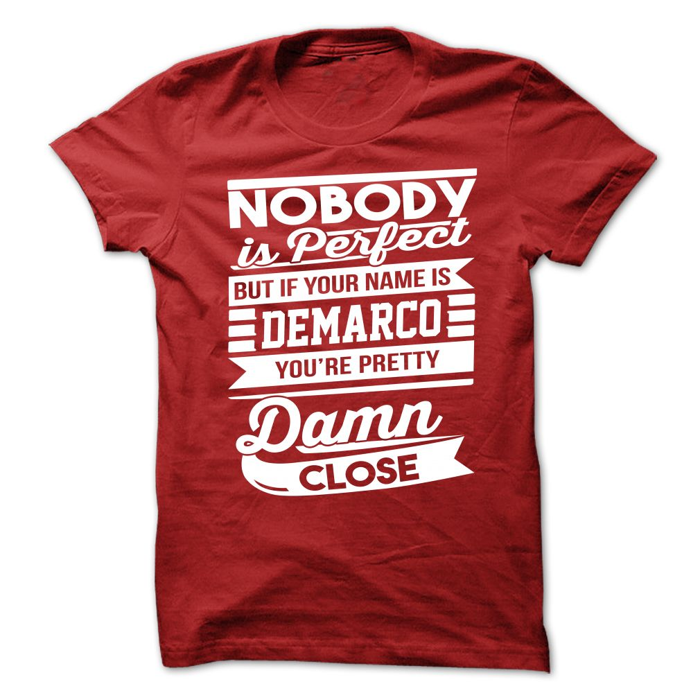 It's a DeMarco thing