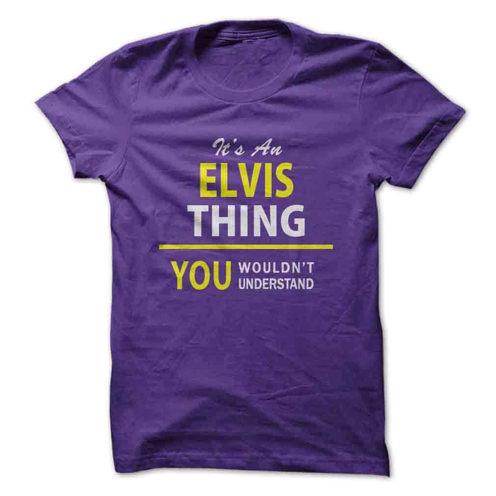 Its An ELVIS thing you wouldnt understand
