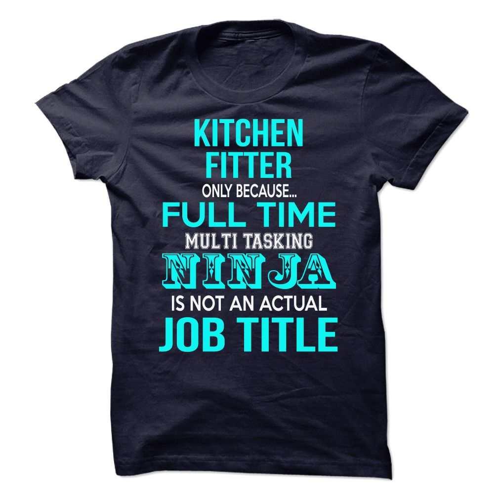 Kitchen Fitter / Kitchen Manager T-shirt