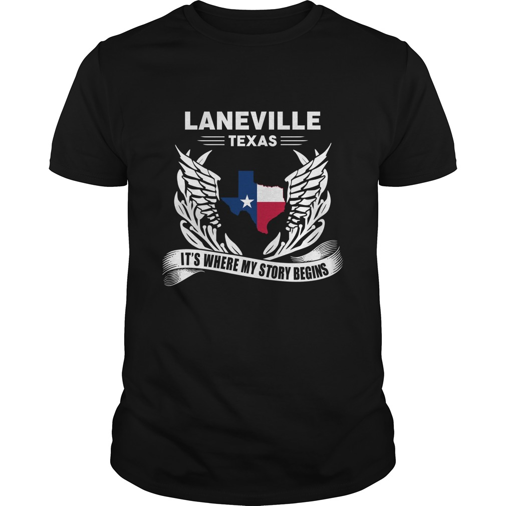 Laneville, Texas – It's Where My Story Begins
