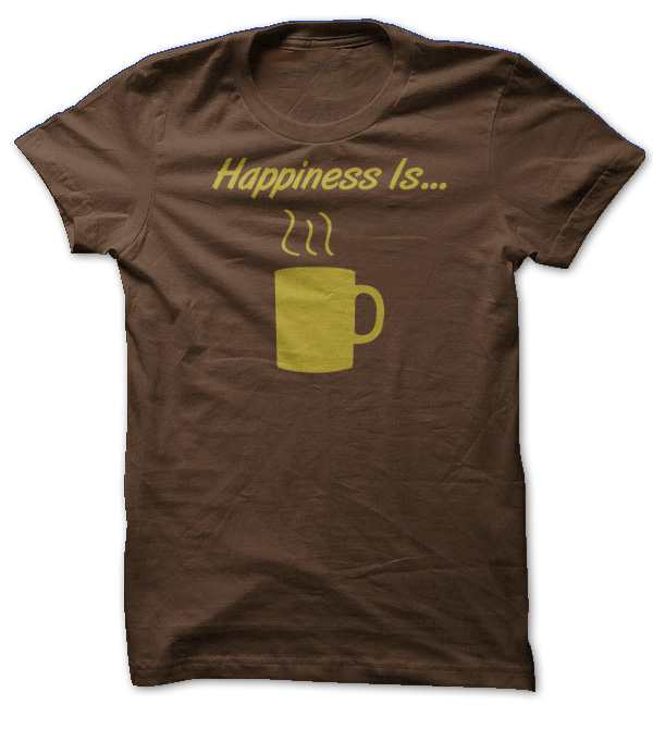 Happiness is… Coffee
