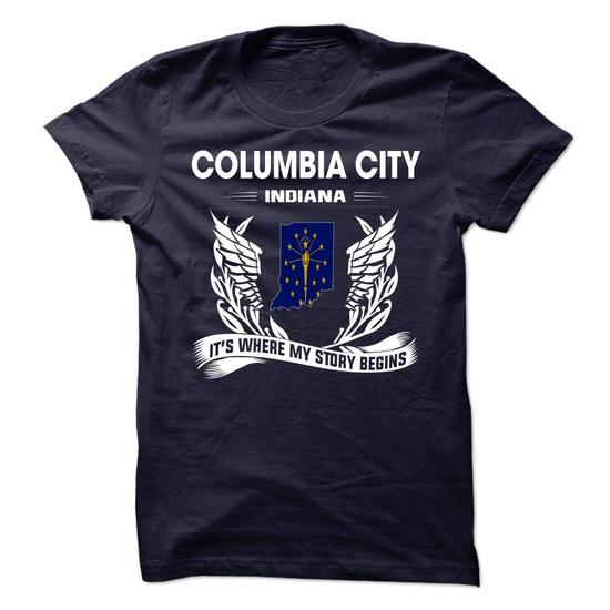 Columbia City – It's where my story begins shirts