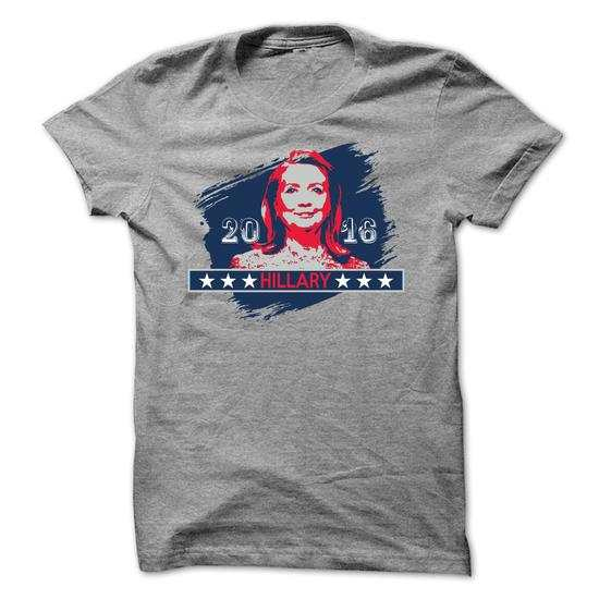 Hillary Clinton 2016 – Support for Hillary T-shirt
