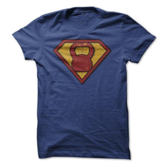 Kettlebell Hero Fitness T-Shirts