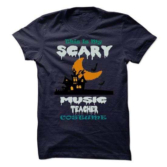 This is my scary Music Teacher costume Shirts