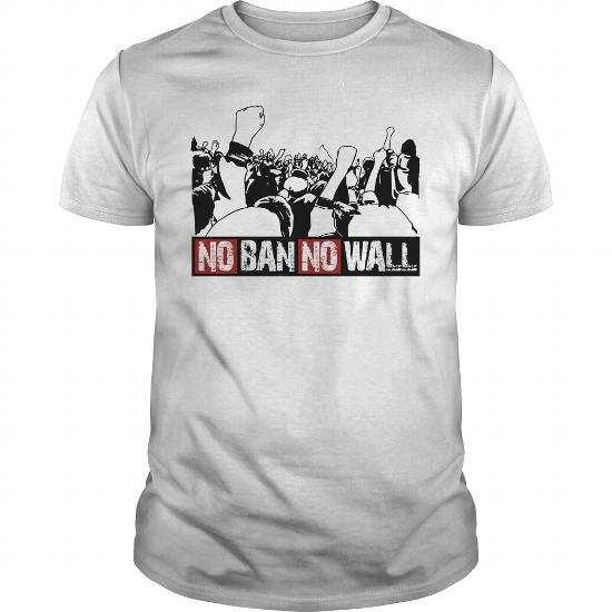 No Ban No Wall T-Shirt Collection