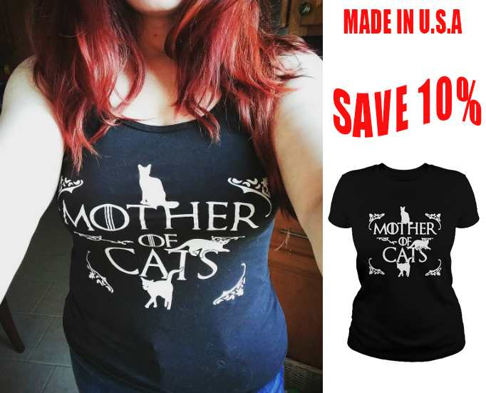 mother cats mockup shirt image