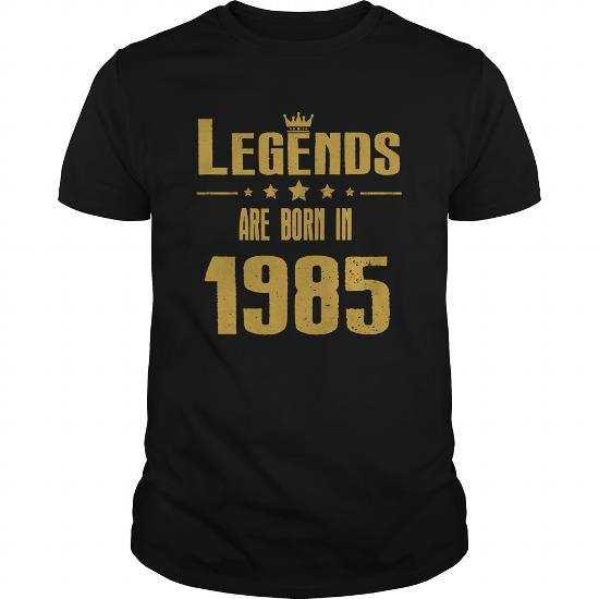 The Legends Are Born in 1985
