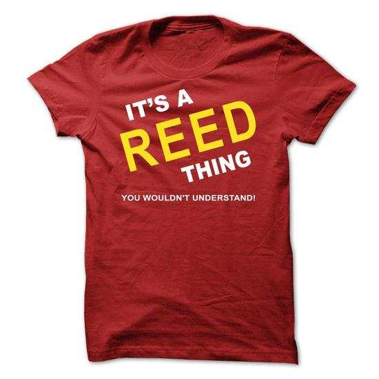 It's a Reed Thing, You Wouldn't Understand