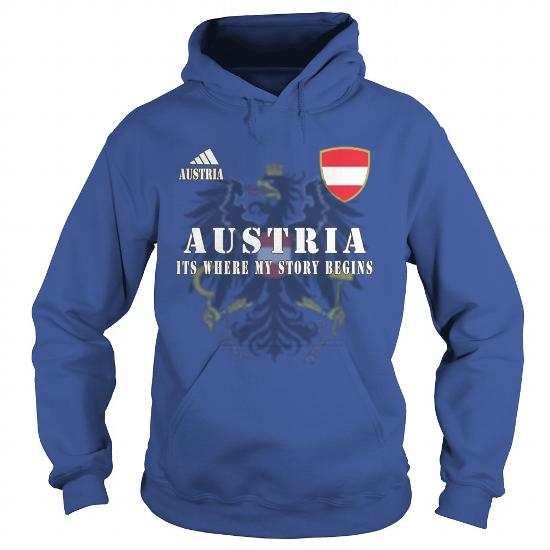 Austria Gildan Hoo Royal Blue w91 front