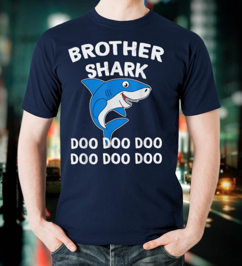 Brother Shark T shirt Doo Doo Doo T Shirt