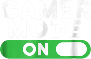 Gamer Mode On Funny Novelty Gaming Video Games T Shirt