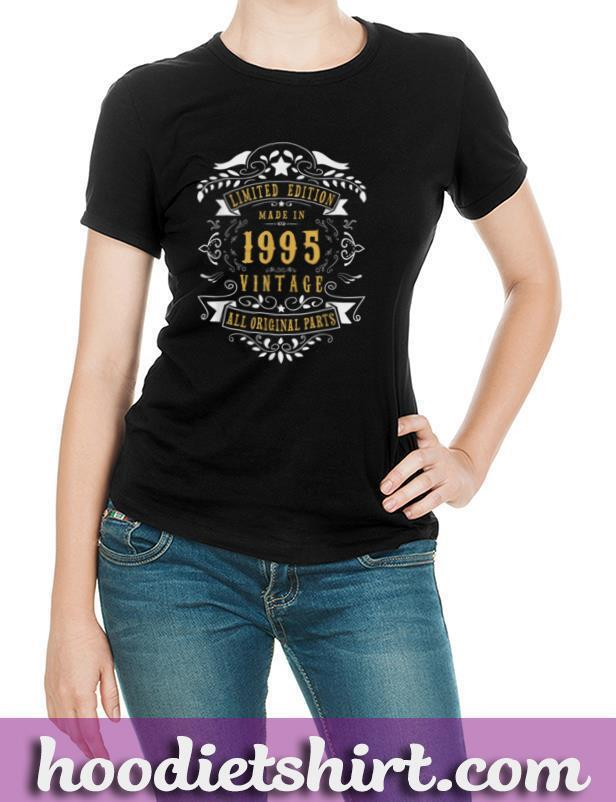 25 years old Made in 1995 25th Birthday, Anniversary Gift T Shirt