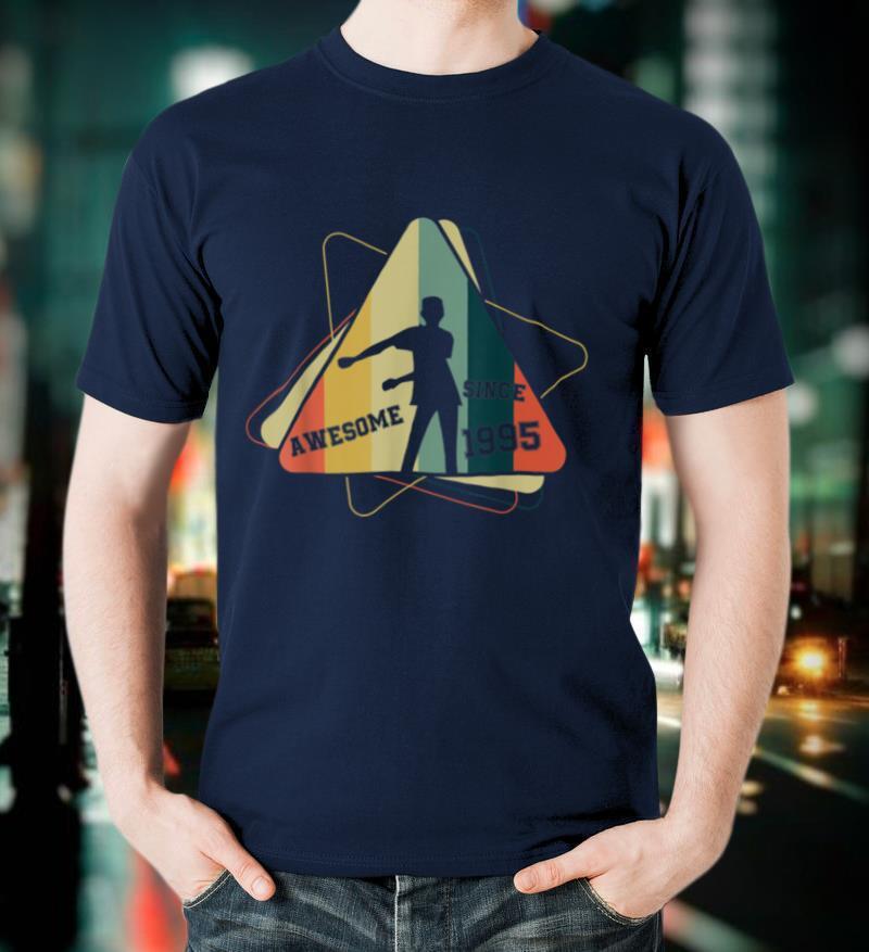 Funny Floss Dance Vintage Since 1995 24th Birthday T Shirt