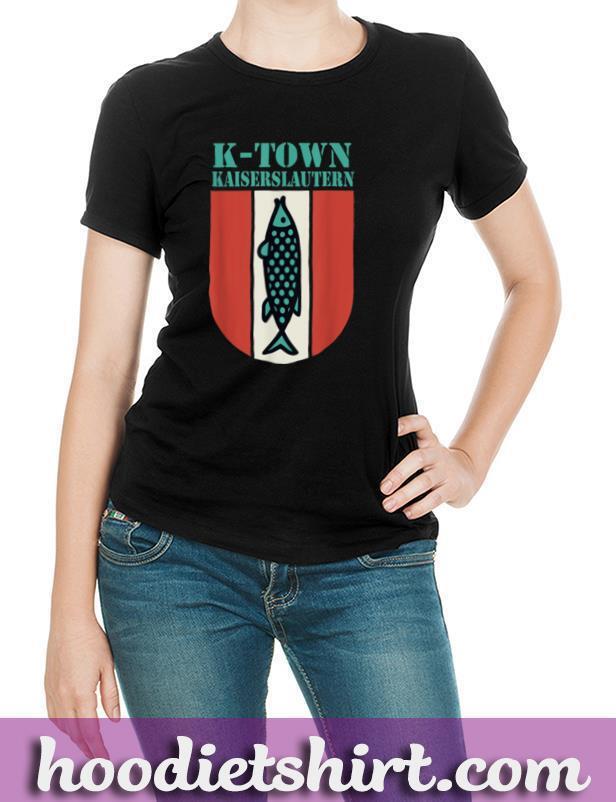 K Town Kaiserslautern Germany Fish Emblem Vintage T Shirt