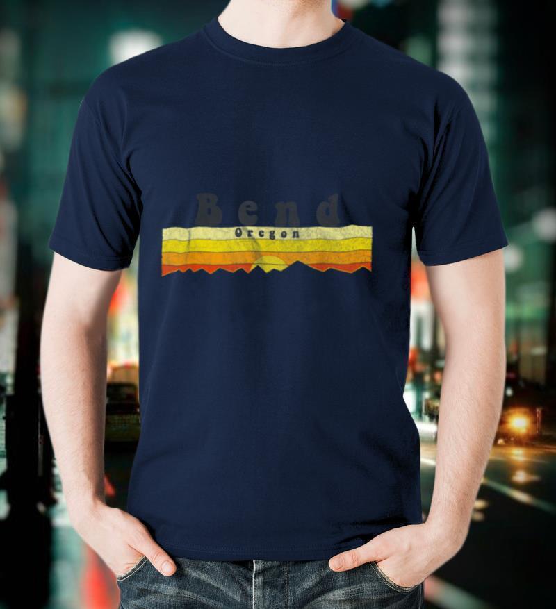 Retro Vintage Bend, Oregon T Shirt