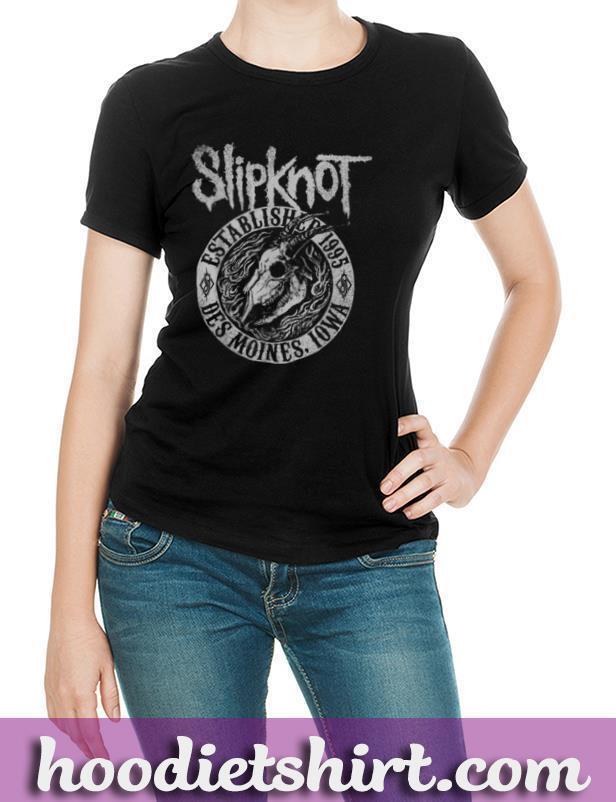 Slipknot Iowa Skull 1995 T shirt T Shirt