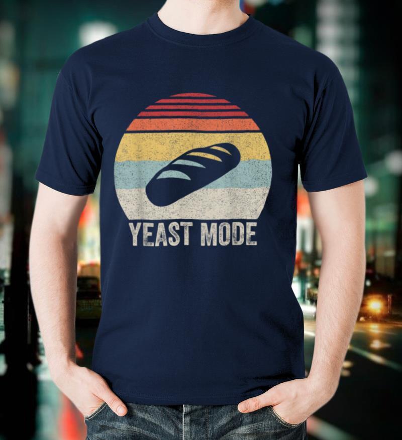 Vintage Retro Yeast Mode Shirt Bread Maker Baking Baker Gift T Shirt
