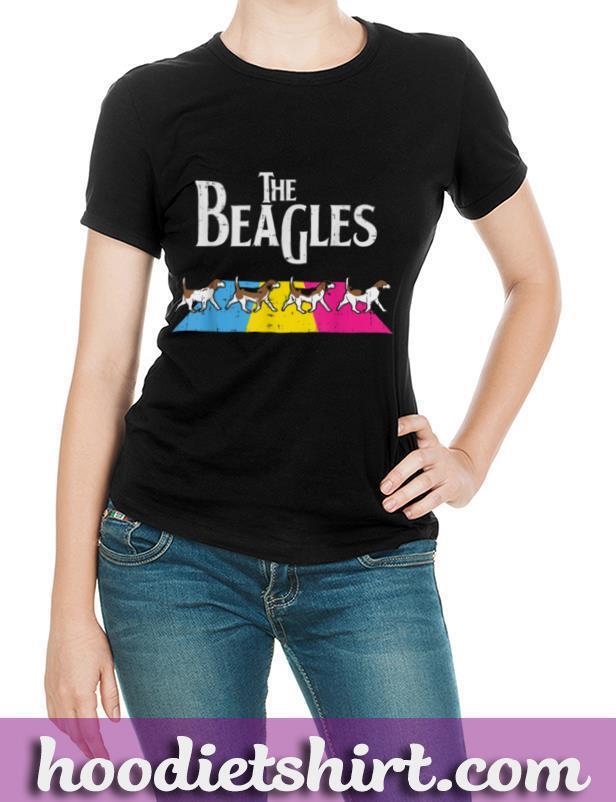 The Beagles Dog Pansexual Parody Pan Pride Flag LGBT Gift T Shirt