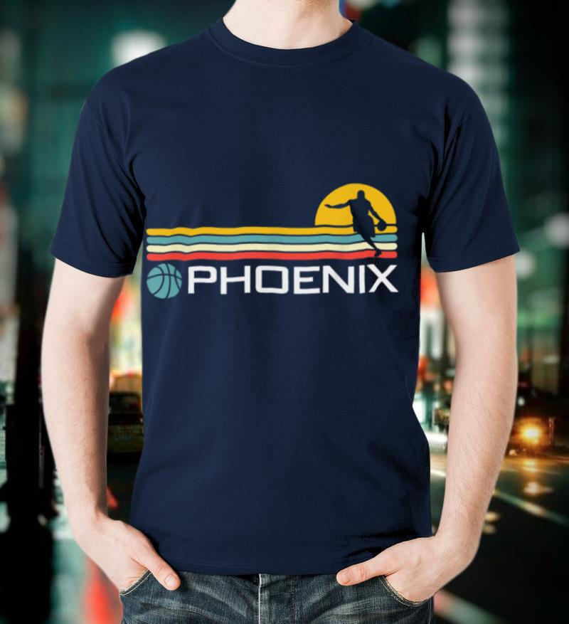 Phoenix Basketball Arizona Retro T Shirt